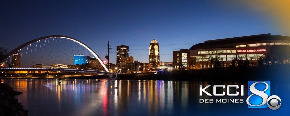 KCCI Des Moines Skyline
