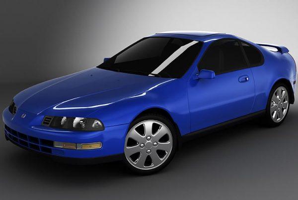 Honda Prelude Render