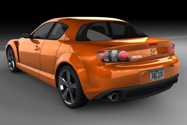 Mazda RX-8 Back