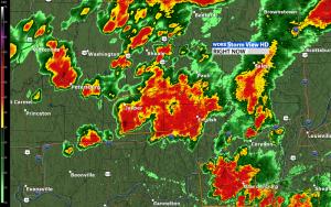 Radar Storm Map