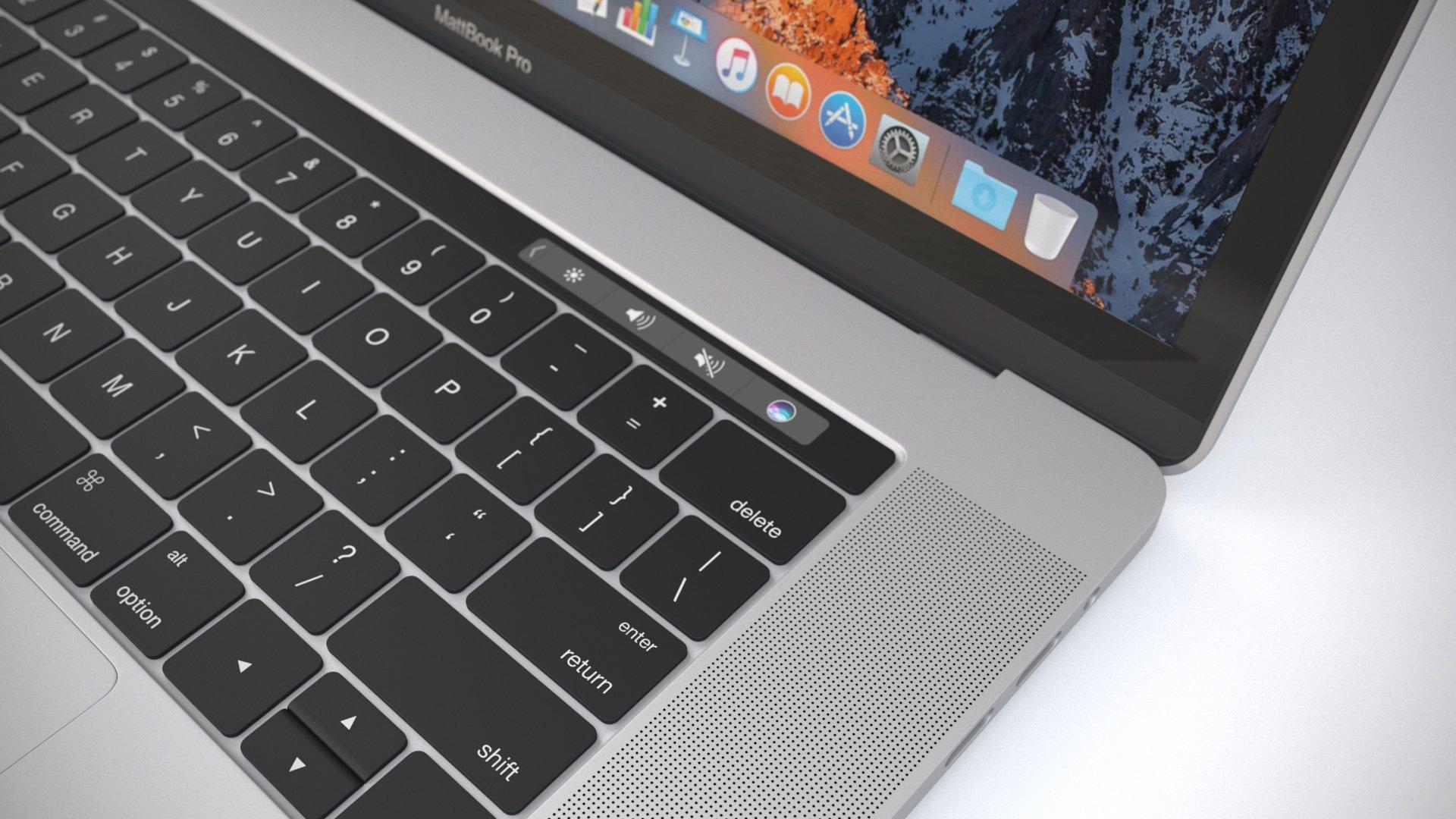 Free MacBook Pro 3D Model for Cinema 4D - Matt Rittman