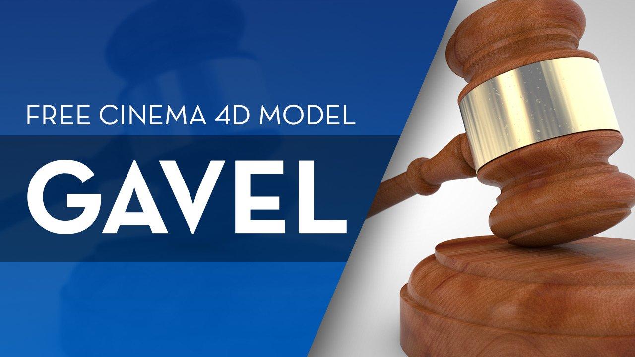 Free Gavel Model