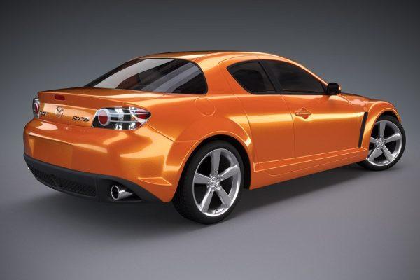 Mazda RX-8 3D Render