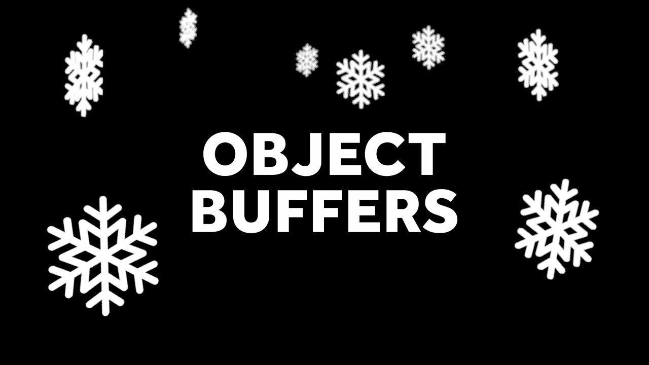 C4D Object Buffer