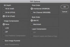 TIFF Options