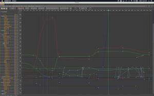 Cinema 4D Curve Editor