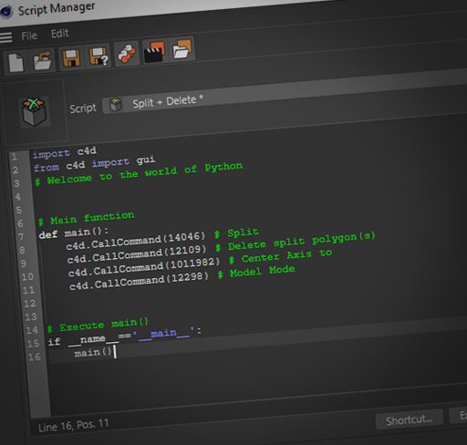 Cinema 4D Python Scripting