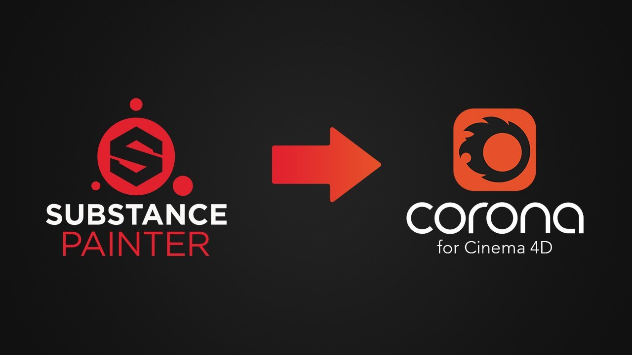 Substance Painter to Corona C4D